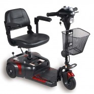3-Wheel Mobility Scooter Rental; 250 lb. capacity, $35/day